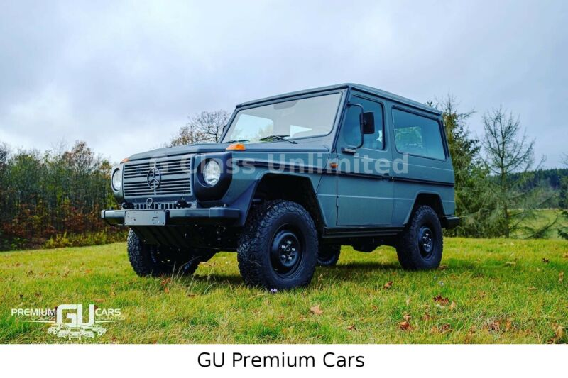 Mercedes-Benz G 290 Line X Gun Metall Grey Oldtimer