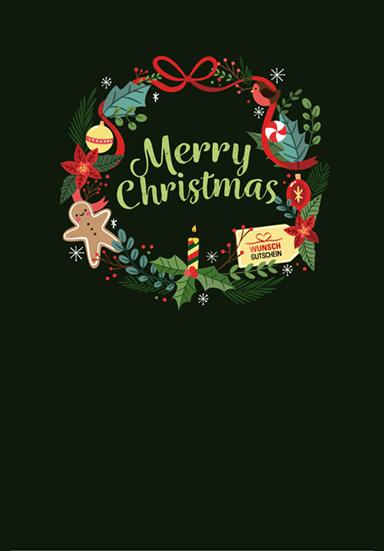 Motiv Merry Christmas